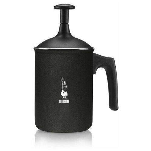 вспениватель молока bialetti milk frother 330мл прозрачный черный Вспениватель молока Bialetti TUTTOCREMA, ручной, 166 мл