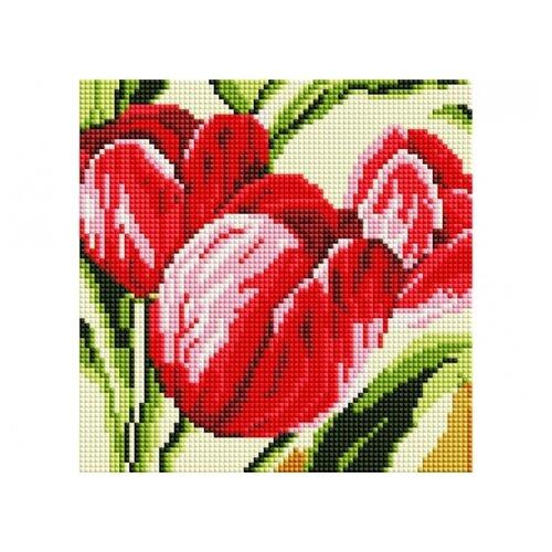 Мозаичная картина Тюльпаны