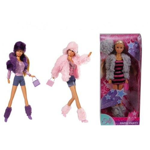 Кукла Steffi Love Штеффи-снежная вечеринка, 29 см, 5735795 недорого