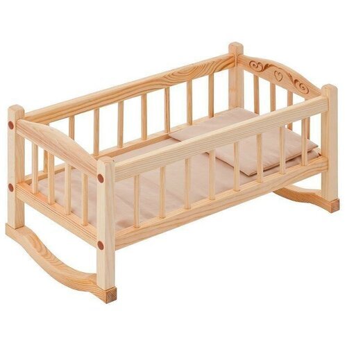 PAREMO Кроватка-люлька для кукол (PFD116-03) бежевый