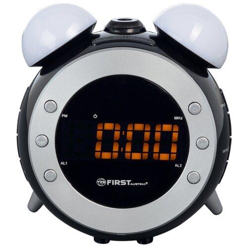 Радиобудильник FIRST AUSTRIA FA-2421-4 черный радиобудильник first austria fa 2406 1 white