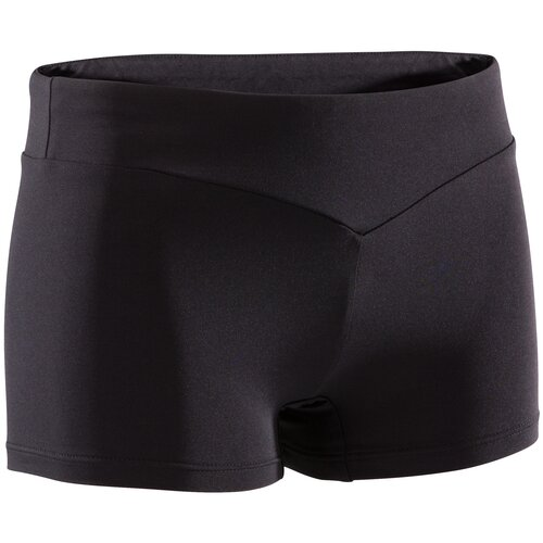 Шорты для спортивной гимнастики 100 жен., размер: 8, цвет: Черный DOMYOS Х Декатлон