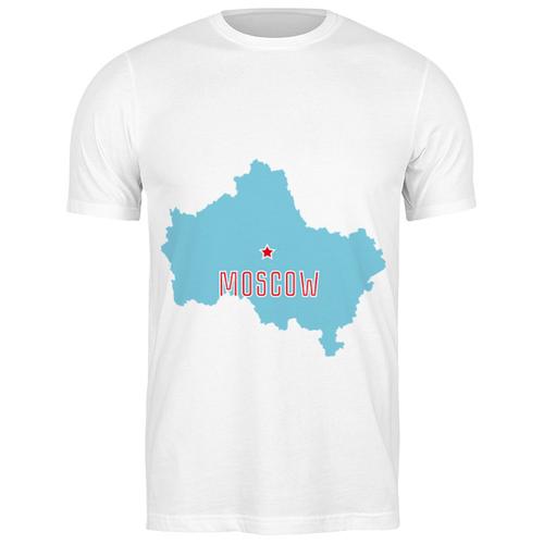 Футболка классическая Московская область. Москва #2193574 (цвет: БЕЛЫЙ, пол: МУЖ, качество: ЭКОНОМ, размер: S)