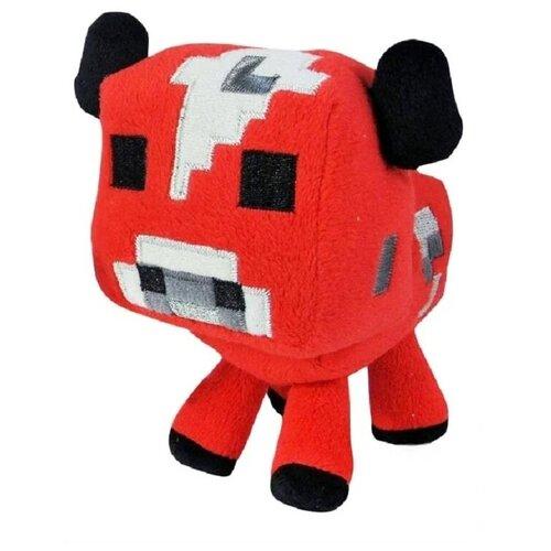 Мягкая игрушка Грибная корова из майнкрафт 15 см