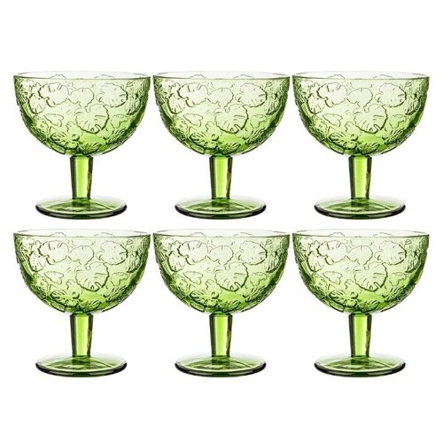 Фото - Lefard Набор бокалов для коктейлей Джангл 6 шт., 320 мл зеленый набор бокалов для коктейлей sea life