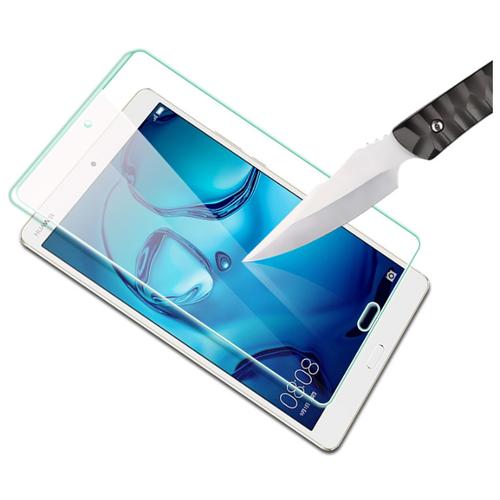 Защитное противоударное стекло MyPads для планшета Huawei MediaPad M3 8.4 LTE (BTV-W09/ DL09) с олеофобным покрытием
