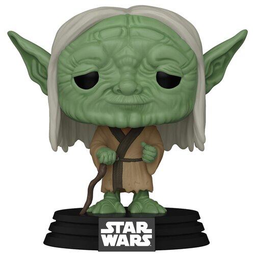 Фото - Фигурка Funko POP: Star Wars Concept Series – Yoda Bobble-Head (9,5 см) фигурка funko pop star wars rise of skywalker – jannah bobble head 9 5 см