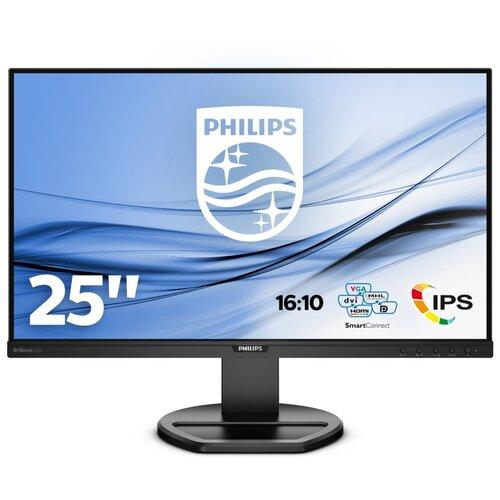 Монитор Philips 252B9 25, черный монитор philips 276c8 27 черный