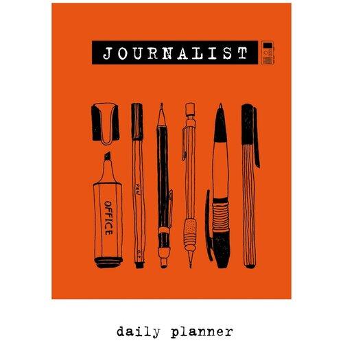 Планинг Бомбора Journalist, А5, 72 листов, оранжевый