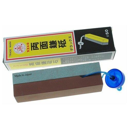 Камень точильный водный комбинированный для заточки инструмента #180/1000 Suehiro SH/50 по цене 1 450