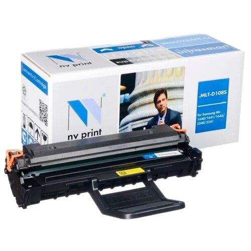 Фото - Картридж NV Print MLT-D108S для Samsung, совместимый nv print nv mlt d203u для samsung proxpress m4020nd m4070fr 15000k
