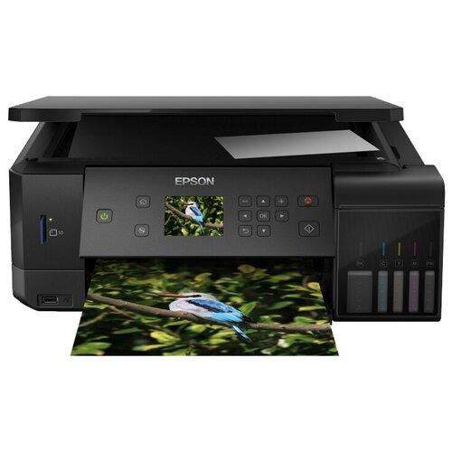 Фото - МФУ Epson L7160, черный мфу epson l7160