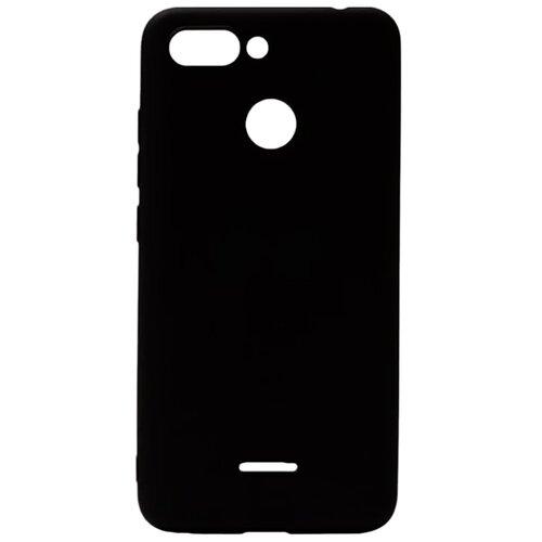 Силиконовый чехол черный Xiaomi Redmi 6