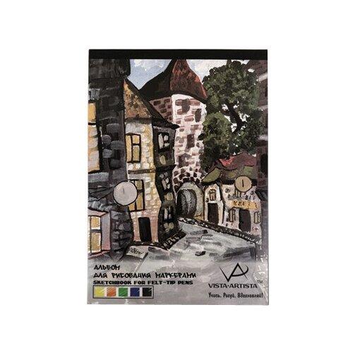 Альбом для рисования маркерами Vista-Artista 42 х 29.7 см (A3), 70 г/м², 40 л.