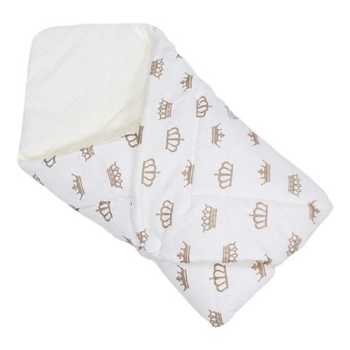 Конверт-одеяло Farla Dream белый/короны