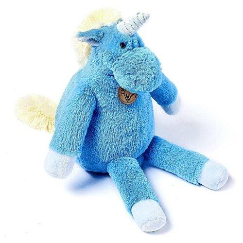 Мягкая игрушка Lapkin Единорог длинноногий голубой 28 см