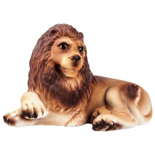 Фото - Игрушка для ванной ОГОНЁК Лев Кинг (С-849) коричневый игрушка для ванной огонёк лев бонифаций с 644 оранжевый