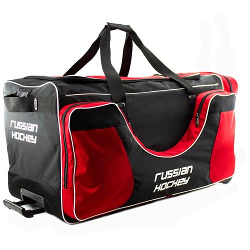 Баул хоккейный BITEX 24-975/1 сумка спортивная на колесах черно-красный полиэстер red fox баул на колесах roller duffel 100 4400 янтарь ss17