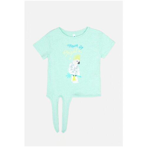 Фото - Футболка для девочек размер 158, светло-бирюзовый, ТМ Acoola, арт. 20210110304 футболка acoola размер 158 белый