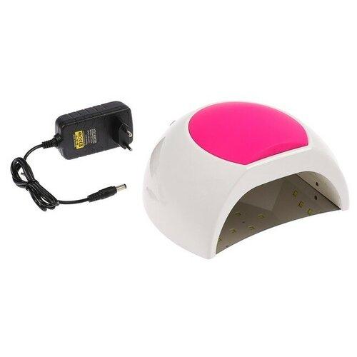 Купить Лампа LED-UV LuazON LUF-16 48 Вт белый/розовый