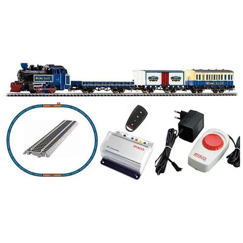PIKO Стартовый набор Грузовой поезд Roncalli R/C, 57142, H0 (1:87) piko стартовый набор грузовой поезд taurus серия hobby 57177 h0 1 87