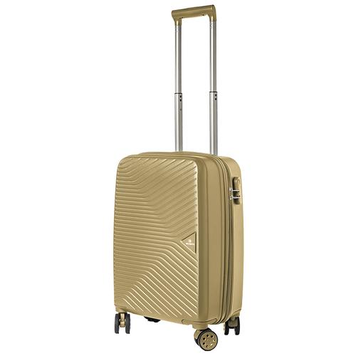 Турецкий чемодан Delvento модель Prism Bronze 59 см, 35л