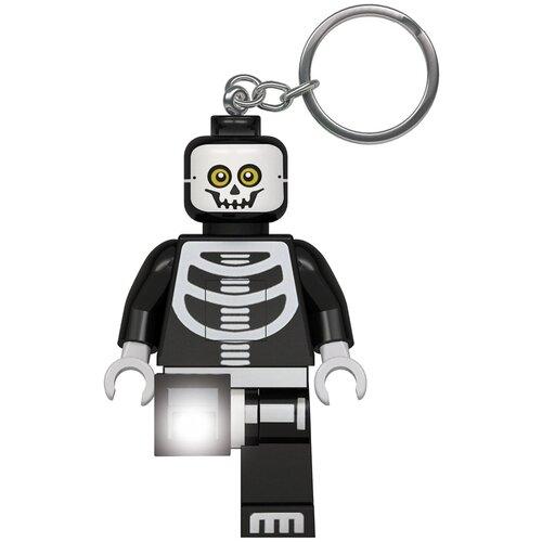 Брелок-фонарик LEGO LGL-KE137, черный/белый брелок фонарик lego lgl ke65 красный