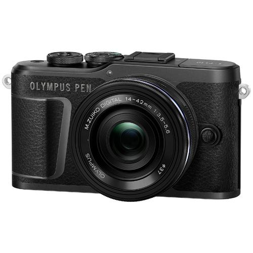 Фотоаппарат Olympus Pen E-PL10 Kit черный M.Zuiko Digital 14‑42mm F3.5‑5.6 EZ