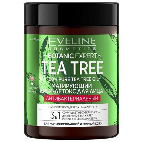 Купить Матирующий крем-детокс EVELINE BOTANIC EXPERT для лица антибактериальный 3в1, Eveline Cosmetics