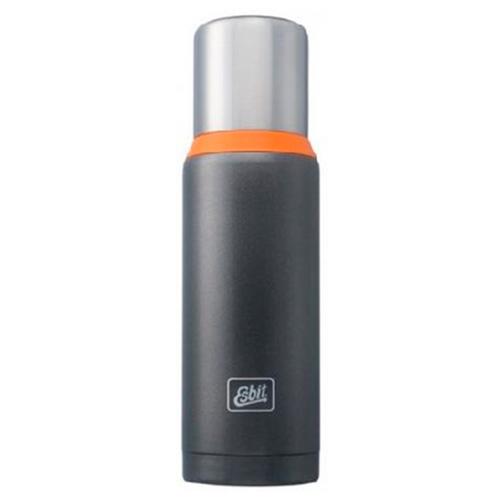 EsBit термос Stainless Steel Vacuum Flask 1л (Темно-серый, GO)