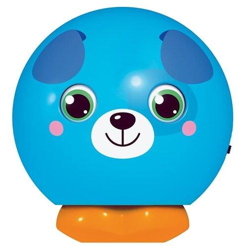 Купить Развивающая игрушка Азбукварик Музыкальный мячик-сюрприз Щенок синий, Развивающие игрушки