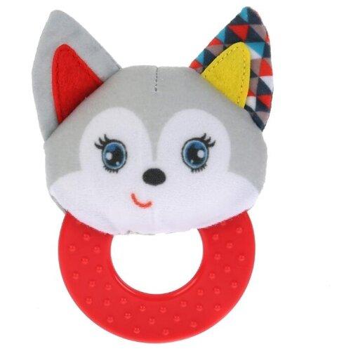 Купить Погремушка Умка Ласковый котенок RPT-C3 (375) серый/красный, Погремушки и прорезыватели
