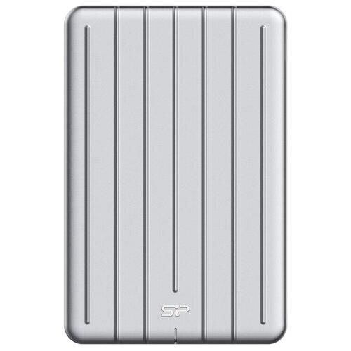 Фото - Внешний SSD Silicon Power Bolt B75 512 GB, серебристый внешний ssd adata se800 512 gb синий