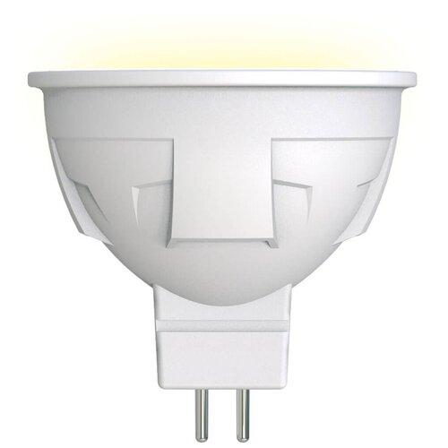 Лампа светодиодная Uniel LED-JCDR 6W/WW/GU5.3/FR PLP01WH, GU5.3, JCDR, 6Вт