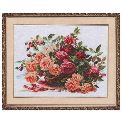 Купить 2-06 Набор для вышивания АЛИСА 'Розы' 40*30см, Алиса, Наборы для вышивания