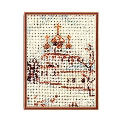 Купить Набор для вышивания Радуга бисера В-047 Москва.Смоленский собор 14 х 10 см, Наборы для вышивания