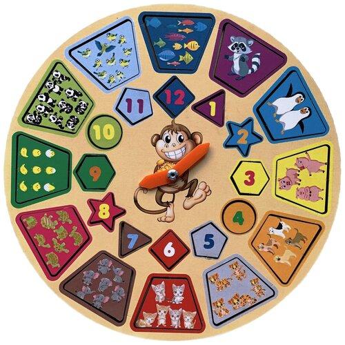 Часы-пазл PAREMO Животные (PE720-153)
