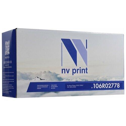 Фото - Картридж NV Print 106R02778 для Xerox, совместимый картридж nv print 006r01518 для xerox совместимый