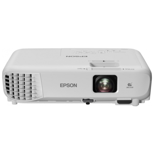 Фото - Проектор Epson EB-X06 white (LCD, 1024 x768, 3600Lm, 16000:1, 2.5 kg) (V11H972040) 2 in 1 sata to ide adapter ide to sata converter with sata cable power cable for hdd hard disk for sectional dvd cd
