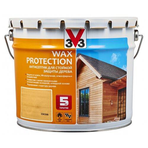 V33 Wax Protection сосна 9 л