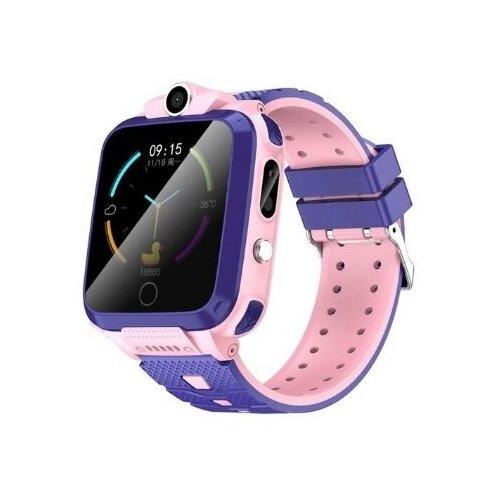 Детские умные часы Smart Baby Watch V11 4G Pink часы smart baby watch q70