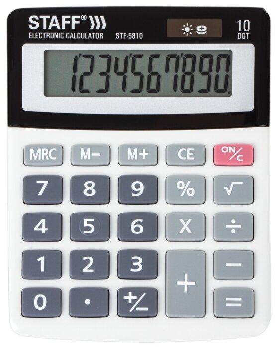 Калькулятор бухгалтерский STAFF STF-5810