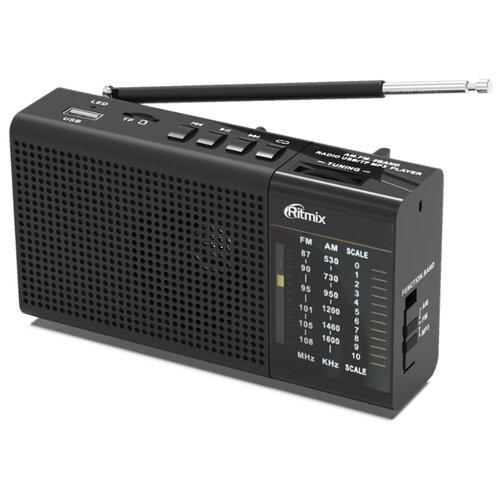 Радиоприемник Ritmix RPR-155 черный
