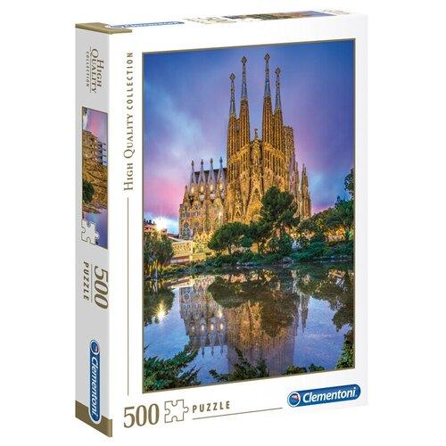 Пазл Clementoni Барселона (35062), 500 дет. пазл clementoni 1000 деталей наполи 2