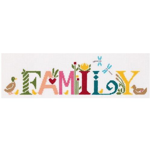 Купить Набор для вышивания крестиком PANNA Семья, английский (CE-7205), Наборы для вышивания