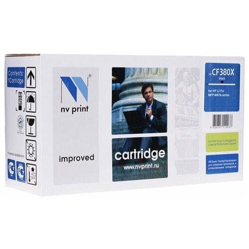 Фото - Картридж NV Print CF380X для HP, совместимый картридж nv print cf280x ce505x для hp совместимый