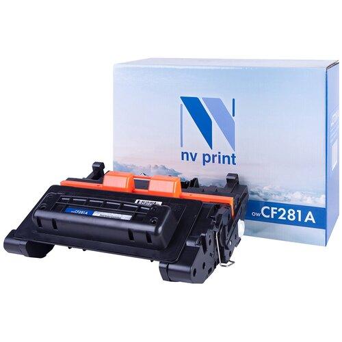 Картридж NV Print CF281A для HP, совместимый картридж nv print cf281a для hp