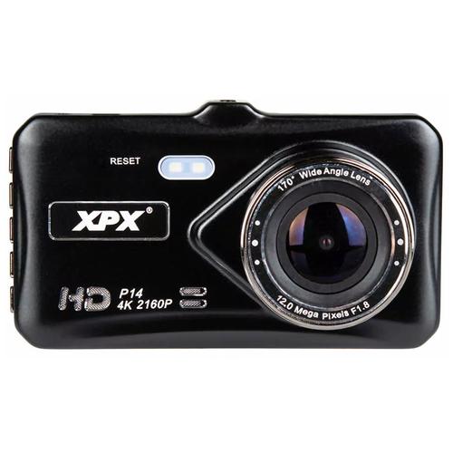 Видеорегистратор XPX P14, 2 камеры, черный
