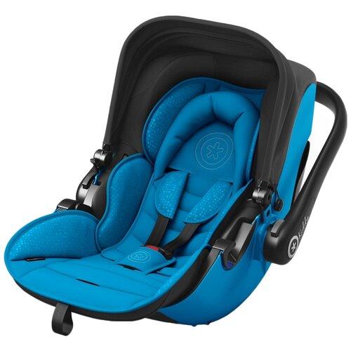Автокресло-переноска группа 0+ (до 13 кг) Kiddy Evolution Pro 2, sky blue автокресло группа 1 2 3 9 36 кг little car ally с перфорацией черный