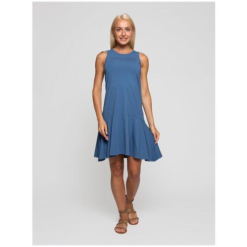 Женское легкое платье сарафан, Lunarable индиго, размер 42